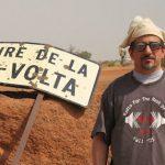 Bill at Burkina border