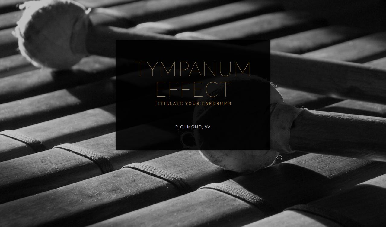 Tympanum Effect