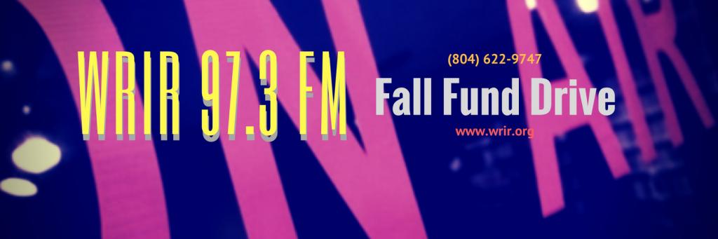 WRIR Fall Fund Drive