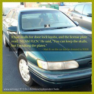 Car=WRIR