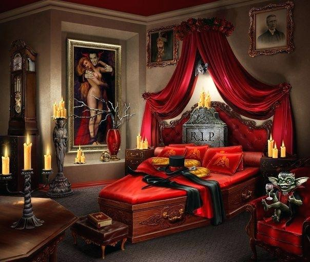 Children Of The Night Vampires In Your King Size Bed Wrir 973 Fm - Make-your-room-look-like-a-vampires-room