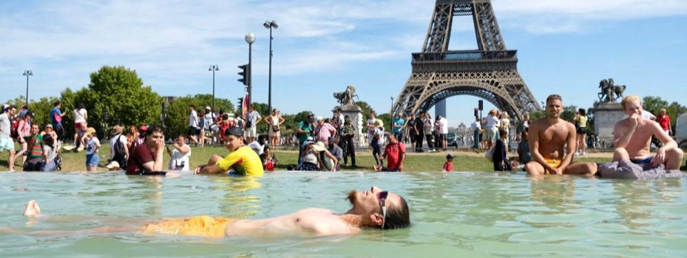 Paris canicule