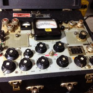 French audio broadcast equipment