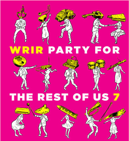 WRIR's 7th Birthday Party is February 3 at 7pm